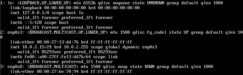 Ubuntu 20.04 ip a before static IP