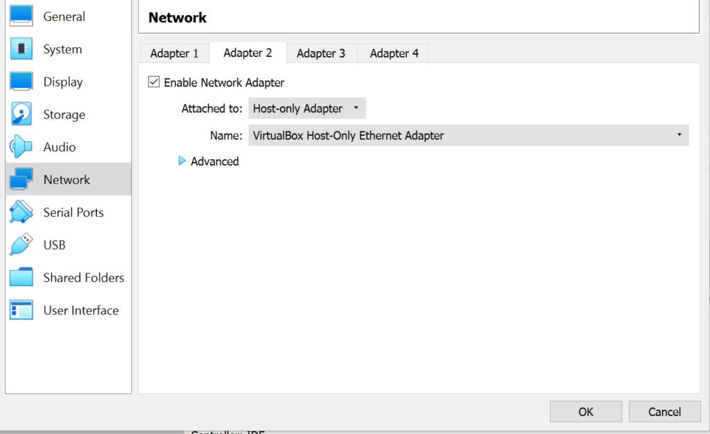 VirtualBox Network Adapter 2 image